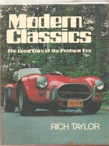 9780684155258: Modern classics: The Great Cars of the Postwar Era