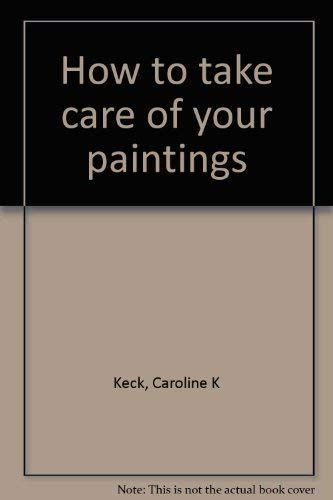 How to take care of your paintings