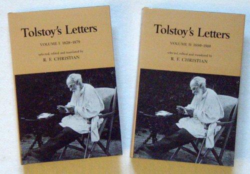 Tolstoy's Letters (2 Volumes): Christian (Ed.), R.F.