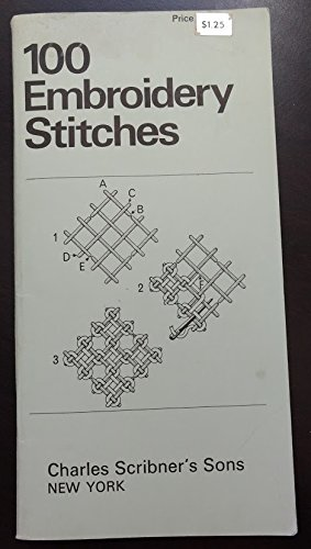 50 Counted Thread Embroidery Stitches (The Scribner library): Coats Sewing Group
