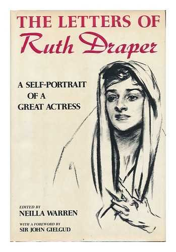 9780684158181: The Letters of Ruth Draper: A Self-Portrait of a Great Actress (1920-1956)