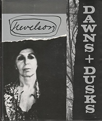 Louise Nevelson: Dawns + Dusks, Taped Conversations with Diana MacKown (Signed by artist and author...