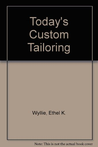 9780684159256: Today's Custom Tailoring