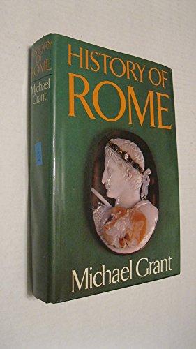 History of Rome: Michael Grant