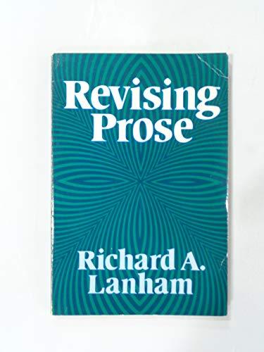 9780684159874: Revising Prose (Scribner English series)