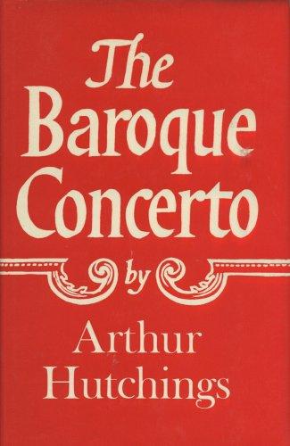 9780684160597: The baroque concerto