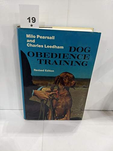 9780684161587: Dog Obedience Training, Revised Edition