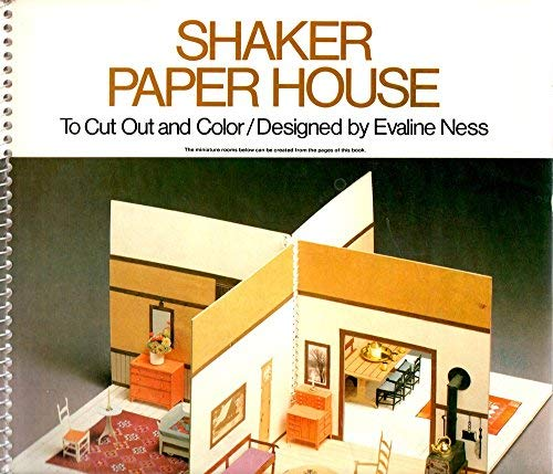 9780684163062: Shaker Paper House: to cut out and color