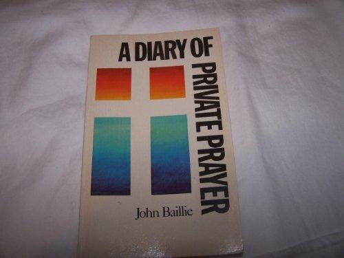 9780684163239: A DIARY OF PRIVATE PRAYER (Scribner Classic)