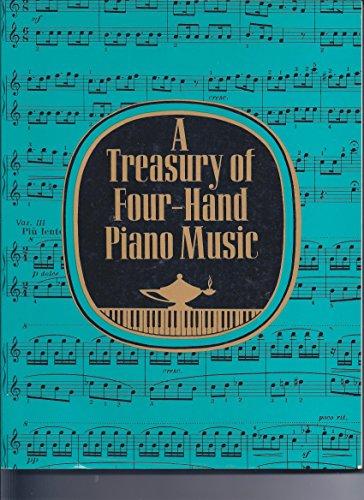 9780684163994: Treasury of Four-Handed Piano Music