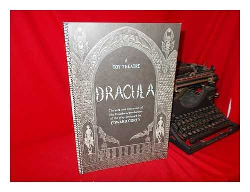 9780684164014: Dracula: A Toy Theatre : The Sets and Costumes of the Broadway Production of the Play