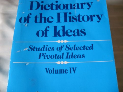 9780684164250: Dictionary of the History of Ideas: 004