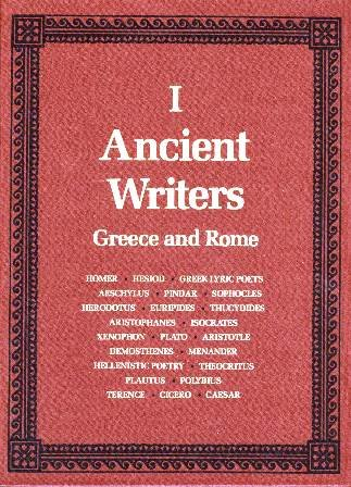 9780684165950: Ancient Writers : Greece and Rome (2 Volume Set) (Scribner Writers)
