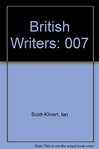 9780684166384: 007: British Writers