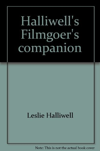 Halliwell's Filmgoer's Companion (0684166607) by Leslie Halliwell