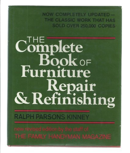 9780684168395: The Complete Book of Furniture Repair & Refinishing
