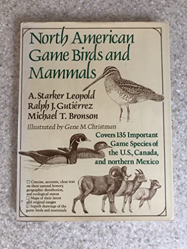 9780684172705: North American Game Birds and Mammals