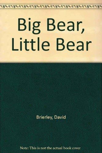 Big Bear, Little Bear [Nov 01, 1981] Brierley, David: Brierley, David