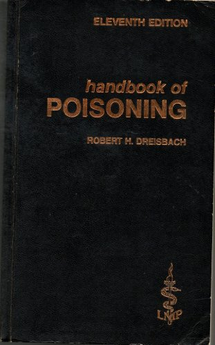 9780684175041: Handbook of Poisoning
