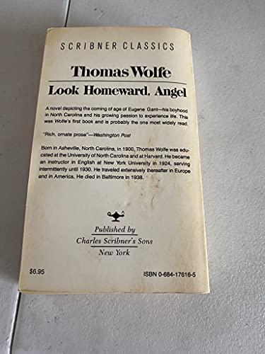 9780684176161: Look Homeward Angel