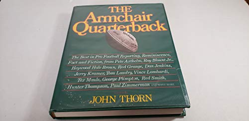 The Armchair Quarterback (The Armchair library): Macmillan Pub Co