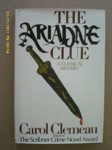 The Ariadne Clue: Carol Clemeau