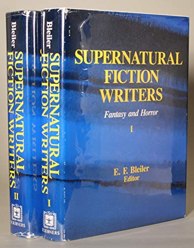 9780684178080: Supernatural Fiction Writers: Fantasy and Horror