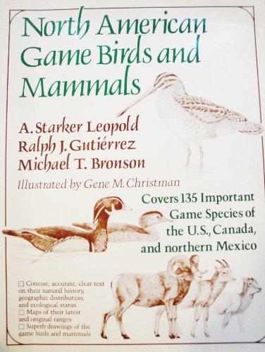 9780684179230: North American Game Birds & Mammals
