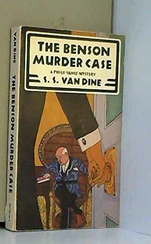 9780684179766: The BENSON MURDER CASE (Scribner crime classics)