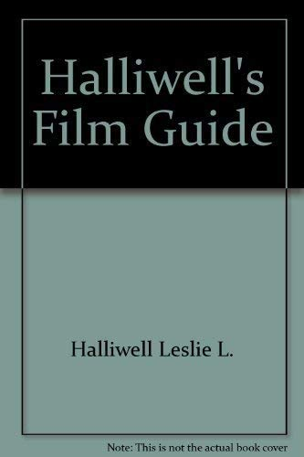 9780684179841: Halliwells Film Guide 8ED