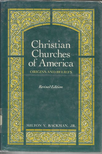 9780684179926: CHRISTIAN CHURCHES OF AMERICA