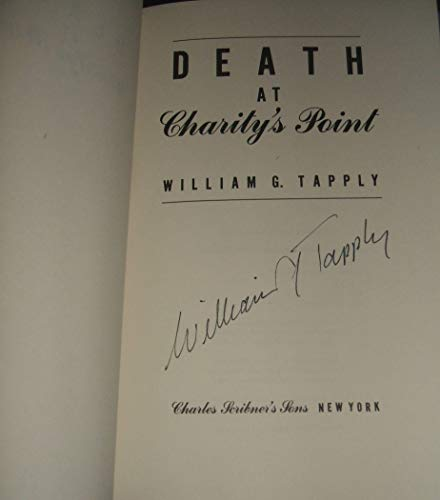 Death at Charity's Point (Brady Cone, First Edition): Tapply, William G.