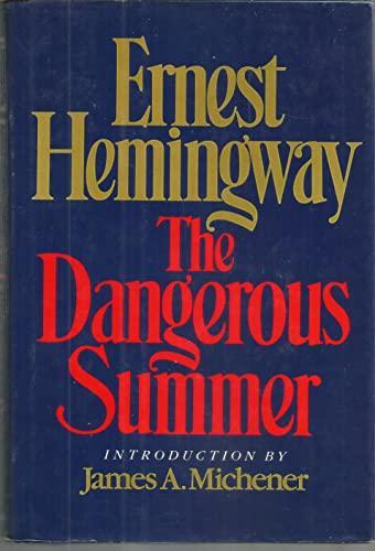 9780684183558: The Dangerous Summer