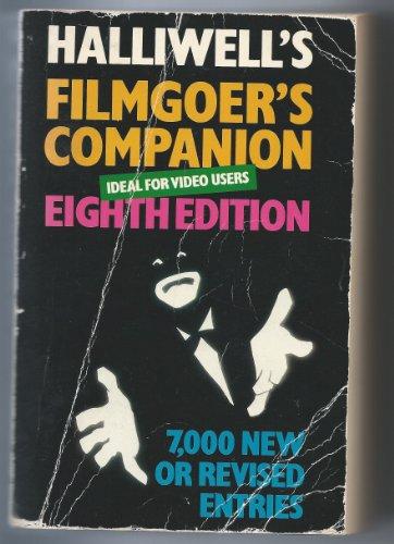 9780684184104: Halliwell's Filmgoer's Companion