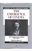 9780684184135: History of the American Cinema: The Emergence of the Cinema: The American Screen to 1907 (Scribner's History of the American cinema)