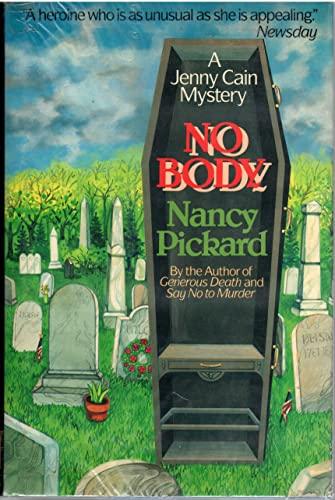 9780684185934: No Body: A Jenny Cain Mystery