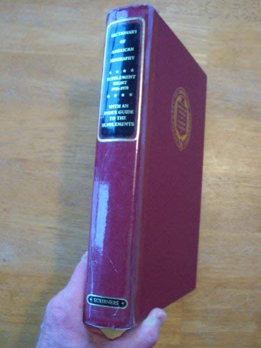 Dictionary of American biography, Supplement Eight 1966: John and Mark