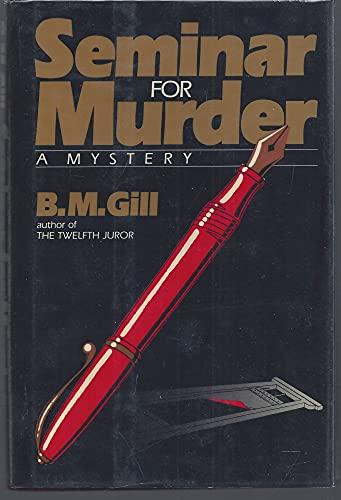 9780684186511: Seminar for Murder