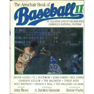9780684187723: The ARMCHAIR BOOK OF BASEBALL 2 (The Armchair Library)