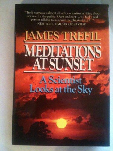 9780684187877: Meditations at Sunset
