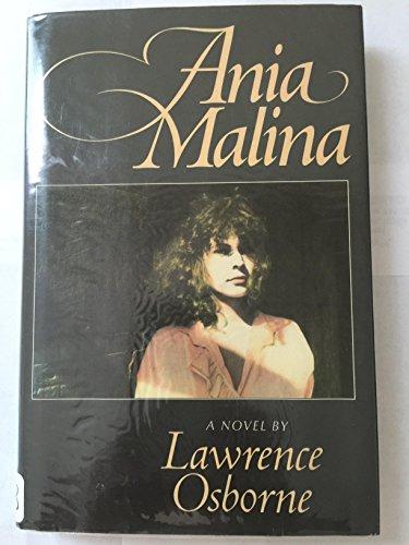 9780684187907: Ania Malina: A Novel