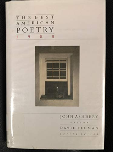 9780684189833: The Best American Poetry, 1988