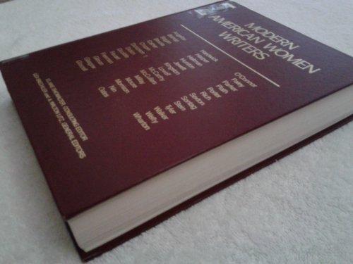 9780684190570: Modern American Women Writers Edition 1. (Scribner Writers)