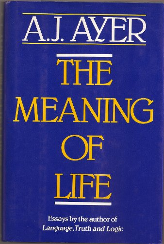 9780684191959: The Meaning of Life