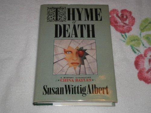 Thyme Of Death: ALBERT, SUSAN WITTIG