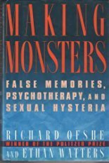 9780684196985: Making Monsters: False Memory, Satanic Cult Abuse, and Sexual Hysteria