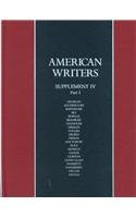 4: American Writers a Collection of Liter (American Writers: Supplement) (0684197863) by A Walton Litz