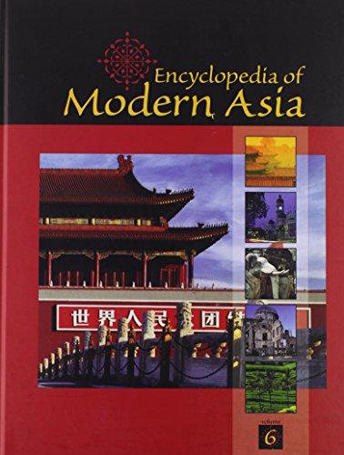 9780684312477: Encyclopedia of Modern Asia - Turkic Language to Zuo Zongtang (Volume 6)