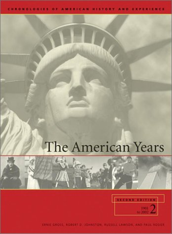 American Years : A Chronology of United: Charles Scribners &