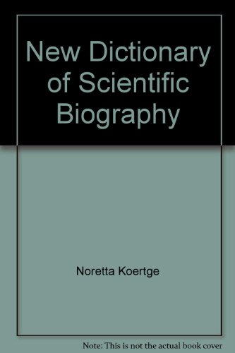 9780684313221: New Dictionary of Scientific Biography